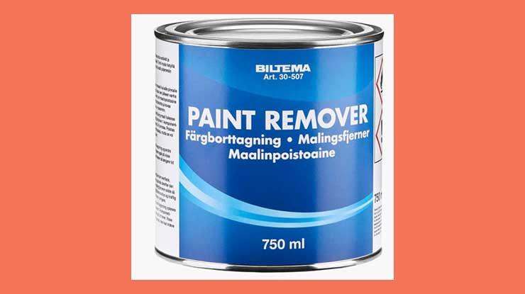 2. Menggunakan Paint Remover