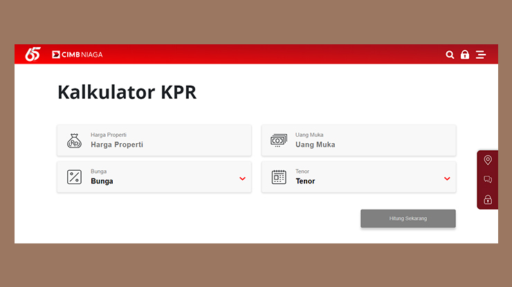 Cara Simulasi KPR Bank CIMB Niaga Online