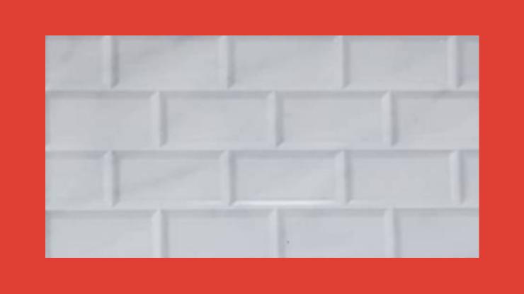 Keramik Kamar Mandi Bricky White