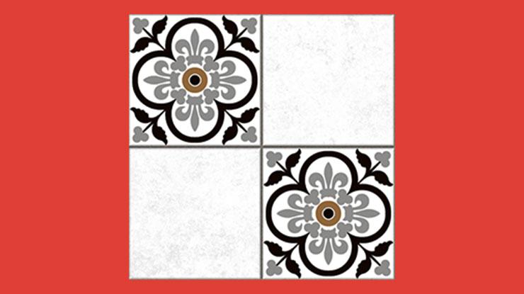 Keramik Kamar Mandi Centro Black White VS507