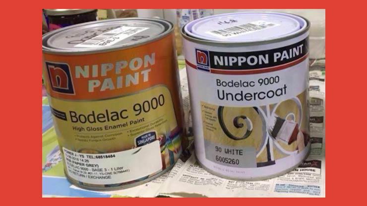 Cat Kayu Nippon Paint Bodelac 9000