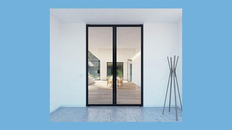 Pintu Kupu Tarung Alumunium