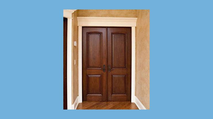 Pintu Kupu Tarung Modern Minimalis