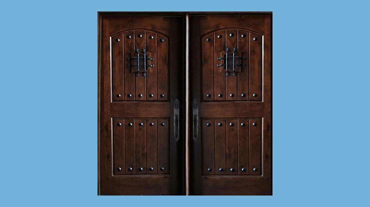 Pintu Kupu Tarung Vintage Rustic
