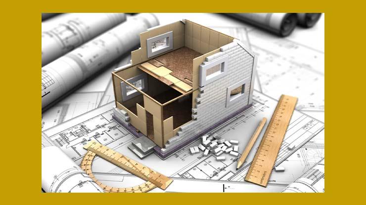 Total Perhitungan Luas Bangunan dan Biaya Konstruksi