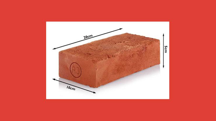 Ukuran Bata Merah