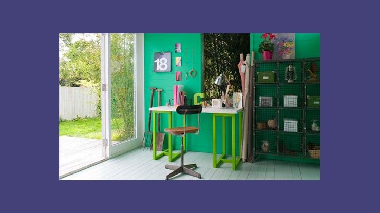 Warna Cat Rumah Hijau Batu Emerald yang Super Luks