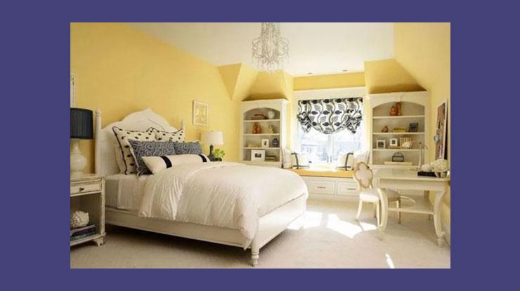 Warna Cat Rumah Kuning yang Optimis dan Ceria