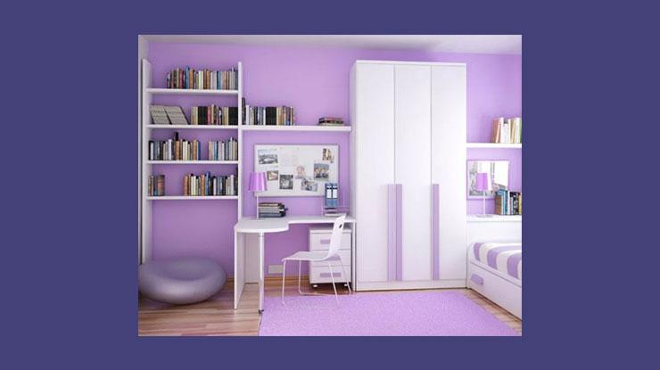 Warna Cat Rumah Lavender