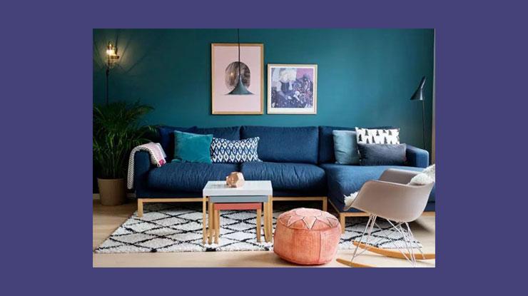 Warna Cat Rumah Smokey Blue