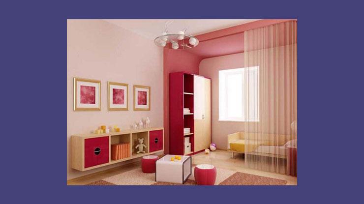 Warna Cat Rumah Tema Pink