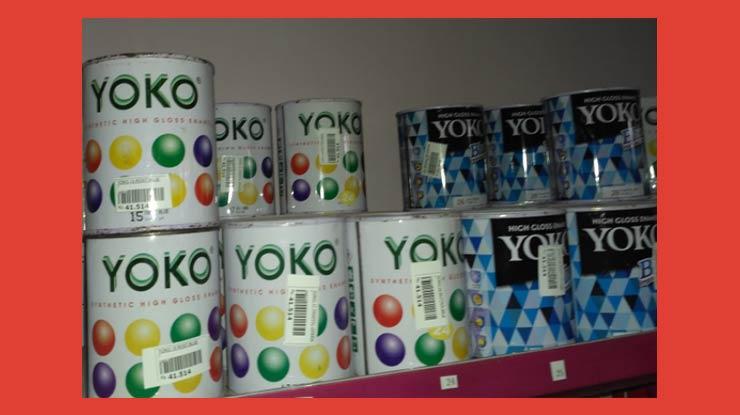 Cat Kayu Yoko High Gloss