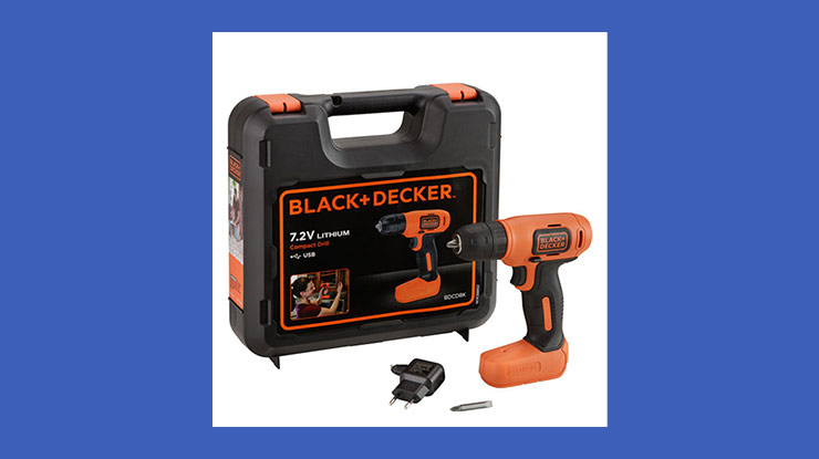 BlackDecker BDCD8K B1 7.2 V