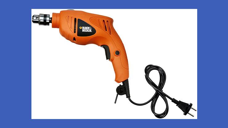 BlackDecker Hammer Drill TB555 B1