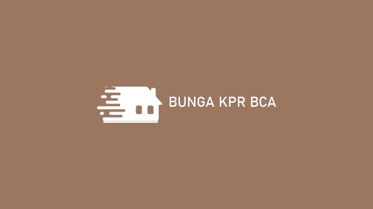 Bunga KPR BCA