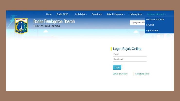 Cara Mencari SPPT PBB Melalui Online