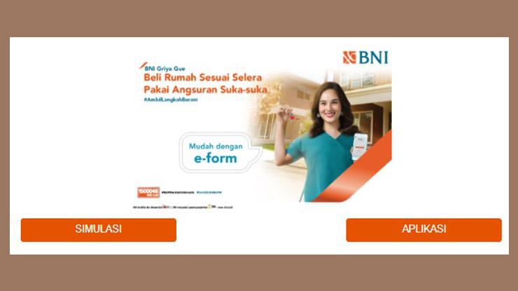 Cara Pengajuan KPR Bank BNI Online