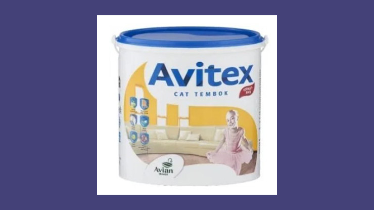 Cat Tembok Avitex