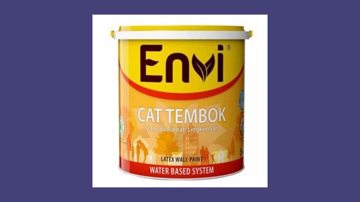 Cat Tembok Envi