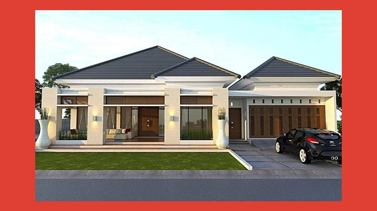 Menentukan Desain Eksterior Rumah Type 45