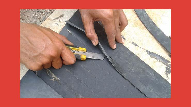 Cara Pemasangan Karpet Talang