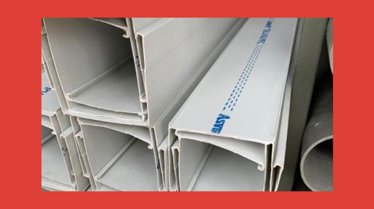 Harga Talang Air PVC Kotak Per Batang