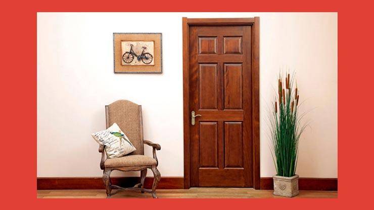 Penggunaan Kayu Mahoni Untuk Daun Pintu