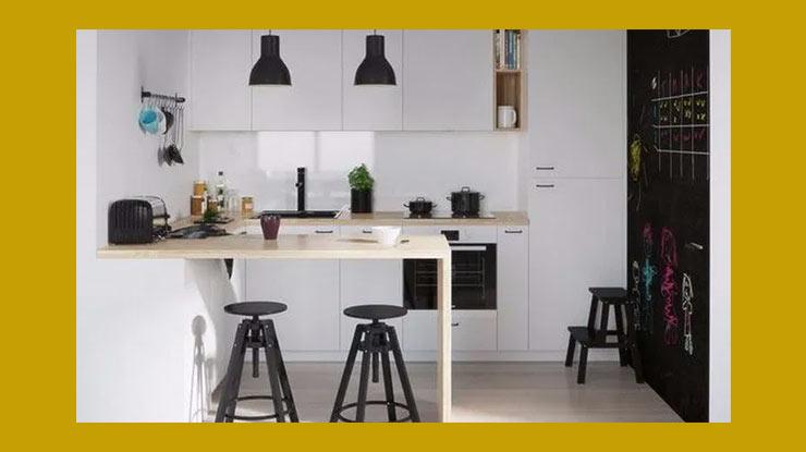 Desain Dapur Bertema Kontemporer