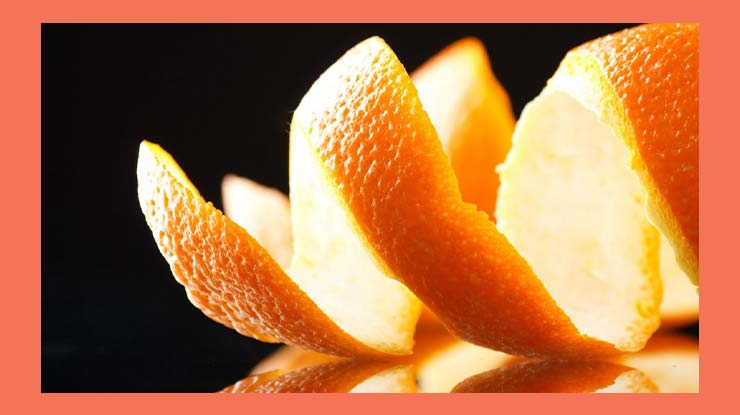 Cara Mengusir Tokek Menggunakan Kulit Jeruk