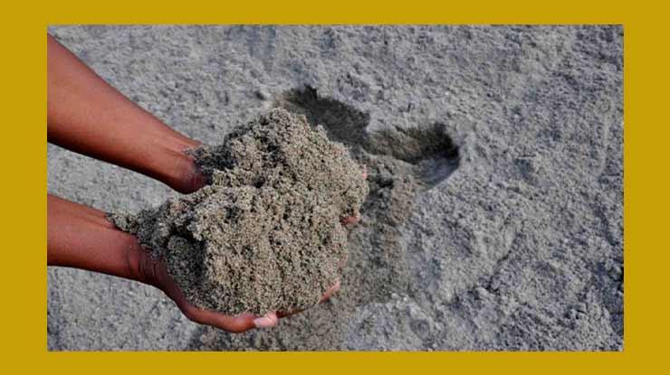 Perhitungan Kebutuhan Pasir