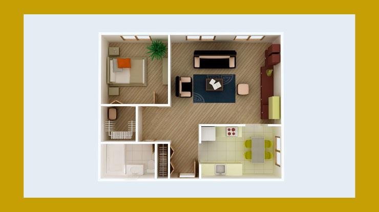 Menentukan Desain Rumah 50 Juta