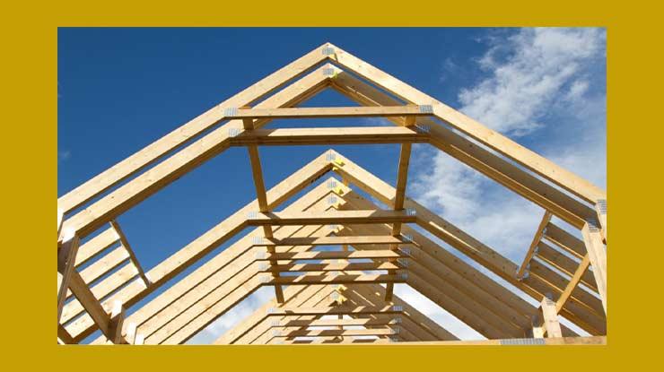 Kebutuhan Komponen Kayu Untuk Rangka Atap