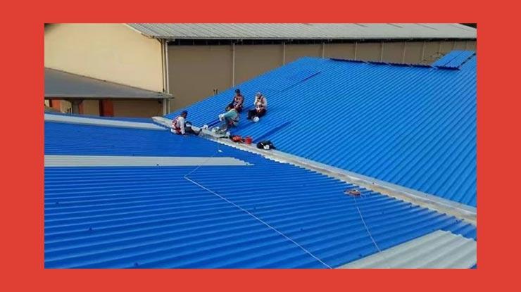 Harga Borongan Pasang Atap Alderon Per Meter
