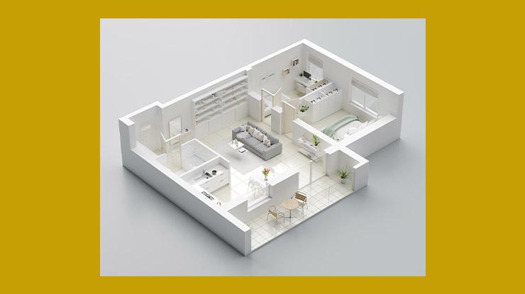 Luas Rumah Type 45
